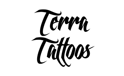 Terra Tattoos Color Black Temporary Tattoo